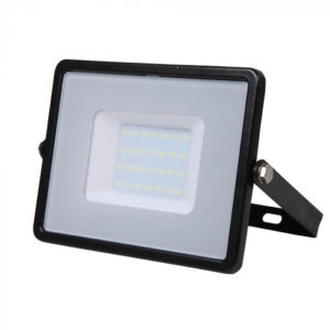 LED Προβολέας 30W V-TAC Samsung Chip Μαύρος Αδιάβροχος IP65 Ψυχρό Λευκό 6400K - 402