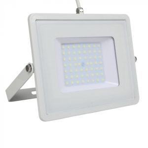 LED Προβολέας 50W V-TAC Samsung Chip Λευκός Αδιάβροχος IP65 Ψυχρό Λευκό 6400K - 411