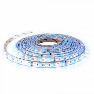 LED Ταινία 10.8W V-TAC SMD5050 Πολύχρωμη RGB - Θερμό Λευκό 3000K - 2552