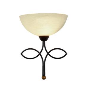 Φωτιστικό Απλίκα Τοίχου E27 Μεταλλικό Σκούρο Καφέ ACA - AD89061W