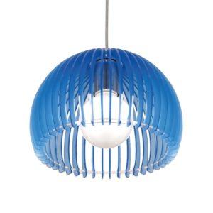 Κρεμαστό Φωτιστικό Οροφής E27 Ø260 Ακρυλικό Μπλε ACA - V286531P28BL