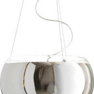 Κρεμαστό Φωτιστικό Οροφής 3xE27 Ø400 Γυαλί Καθρέφτης Χρώμιο ACA - CX1009P40CH