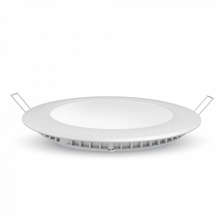 LED Πάνελ Στρογγυλό Χωνευτό 30W V-TAC Ø300mm Φυσικό Λευκό 4000K - 6428