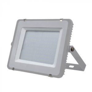 LED Προβολέας 150W V-TAC Samsung Chip Γκρι Αδιάβροχος IP65 Ψυχρό Λευκό 6400K - 483