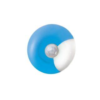 LED Λαμπάκι Νυκτός με Αισθητήρα Ημέρας-Νύχτας 0.4W Πλαστικό Μπλε Ψυχρό Λευκό 6000K ACA - 55504LEDB