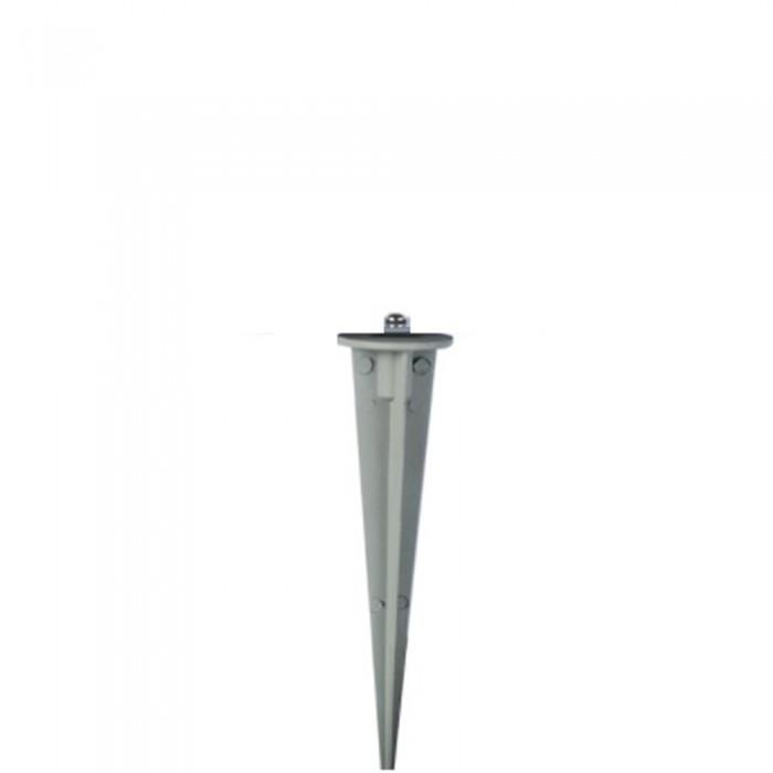 Καρφί για Προβολέα Γκρι Ø35mm Αδιάβροχο IP65 V-TAC Αλουμίνιο - 7533