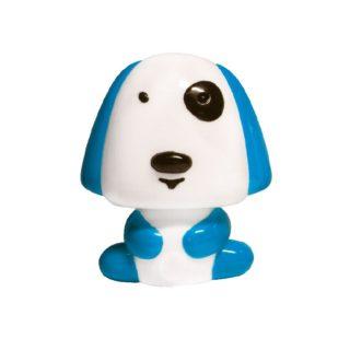 LED Λαμπάκι Νυκτός Σκυλάκι 0.4W Πλαστικό Μπλε Ψυχρό Λευκό 6000K ACA - 82204LEDBE