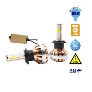 LED HID KIT 45 Watt 4500 Lumen 9-32 Volt DC 6000k