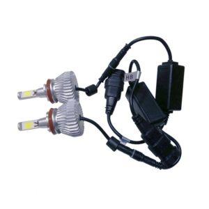 LED HID Kit H9 36 Watt 9-36 Volt DC 3600 Lumen 6000k C6 Economy Line