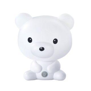 Επιτραπέζιο Παιδικό Φωτιστικό Αρκουδάκι E14 Πλαστικό Λευκό ACA - MT120961W