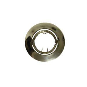 Βάση Σποτ MR11 ACA Χωνευτή Στρογγυλή Ρυθμιζόμενη Χρυσή - AC.04532G