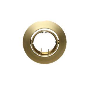 Βάση Σποτ MR11 ACA Χωνευτή Στρογγυλή Ρυθμιζόμενη Χρυσό Περλέ - AC.04532PG