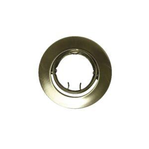 Βάση Σποτ MR11 ACA Χωνευτή Στρογγυλή Ρυθμιζόμενη Χρυσό Ματ - BS3259GM