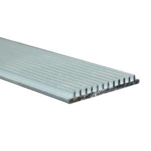 SIM Προφίλ Από Αλουμίνιο Ψύκτρα Απαγωγής Θερμότητας 2m Diolamp - P42B
